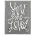You Are Loved Wood Decor